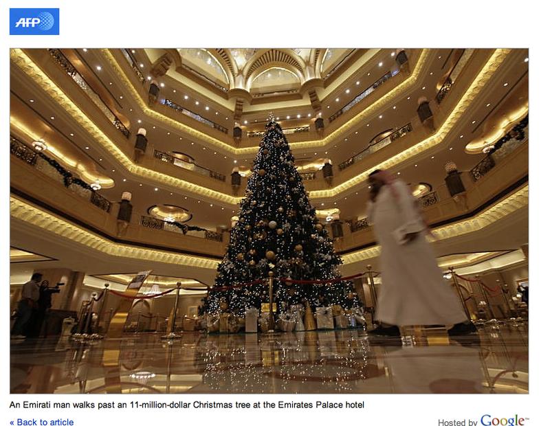 The $11 Million Christmas Tree