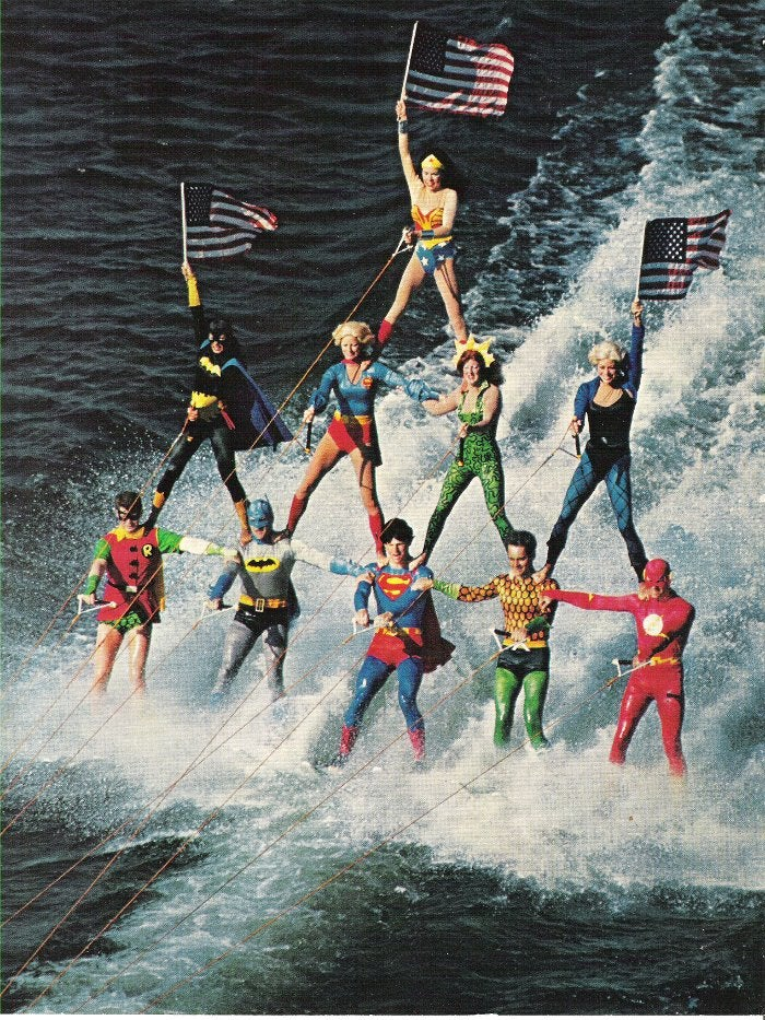 Childhood memory of water skiing superheroes confirmed