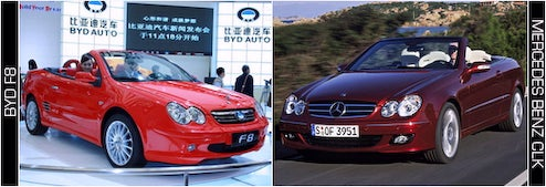 The Top Six Chinese Car Clones