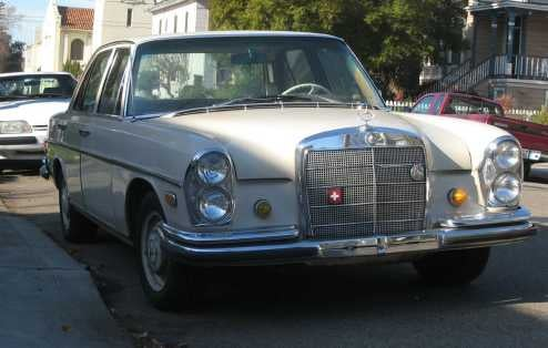 1966 Mercedes-Benz 250S, With Bonus Benz Poll