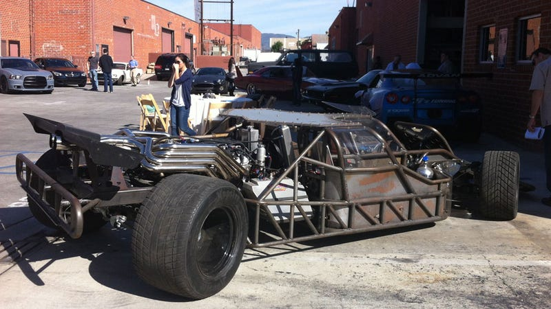 "This Insane ""Flip Car"" From Fast And Furious 6 Attacks And Murders Innocent Vehicles For Fun"