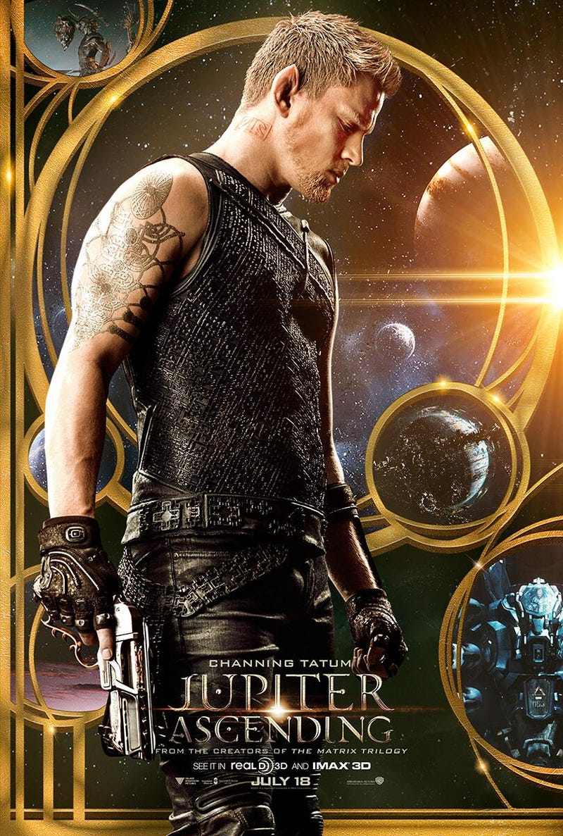 Jupiter Ascending Trailer Brings Back The Love Of Sexy Space Fantasy