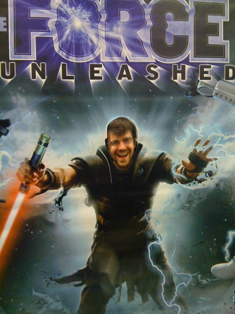 Jett Lucas Out-Bugged The Testers – Force Unleashed Launch Party