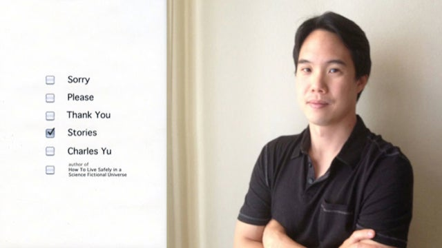 Ask Charles Yu what inspired him to be a science fiction writer