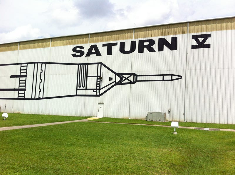 Space Center Houston Visit - JSC and Saturn V