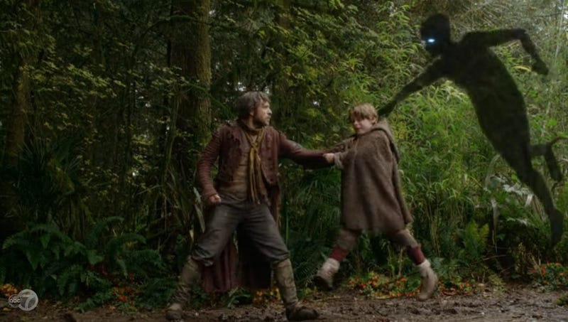Marilyn Manson guest stars as Peter Pan's shadow on Once Upon a Time