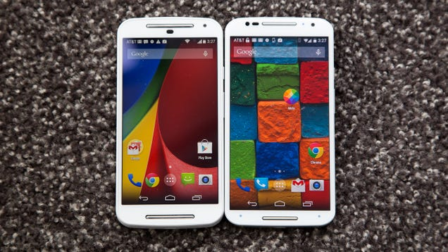 Moto G (2014) Hands-On: Bigger Bang For the Same Buck