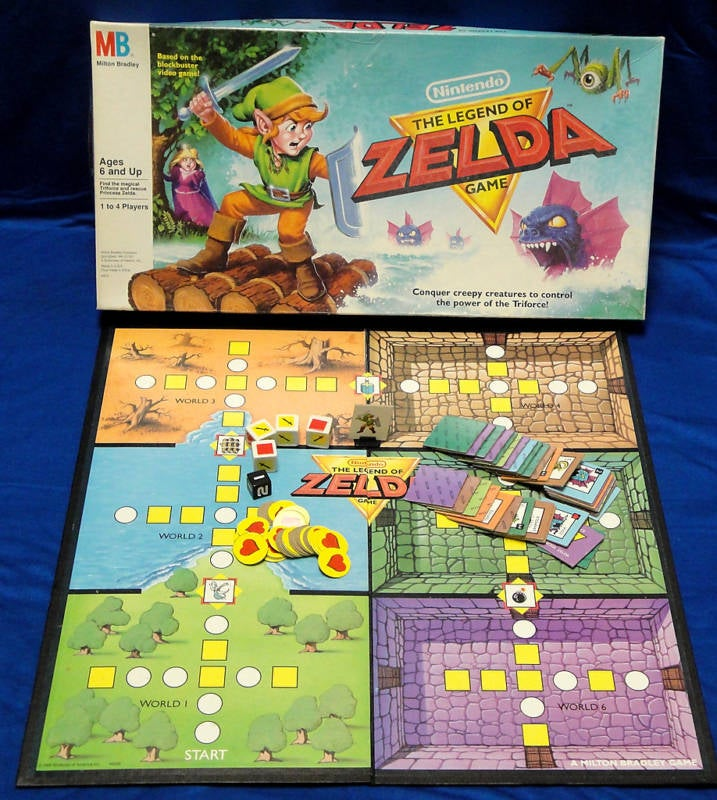 The Legend of the Legend of Zelda Board Games
