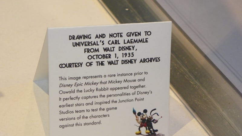 To Show Off Epic Mickey 2, Warren Spector Brought His Rare Disney Collectibles to E3