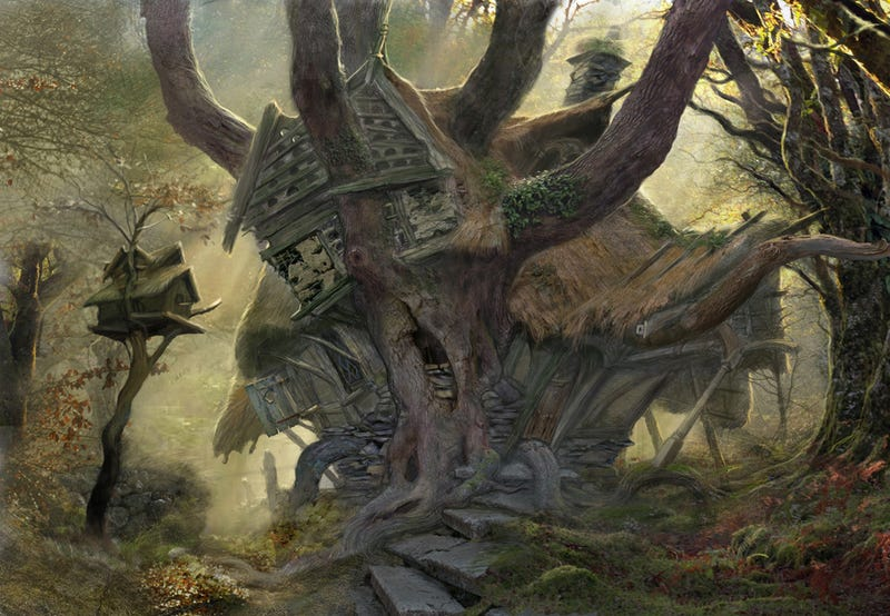 This awesome Hobbit concept art is an expressticket to Middle-Earth