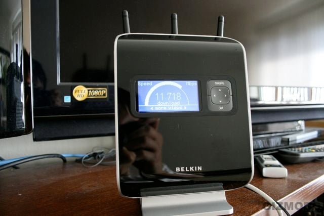 Belkin N1 Vision Wireless Router Hands On