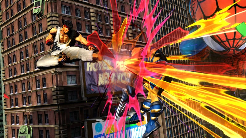 Marvel vs Capcom 3 Screenshots Will Kick Your Canon In The Face