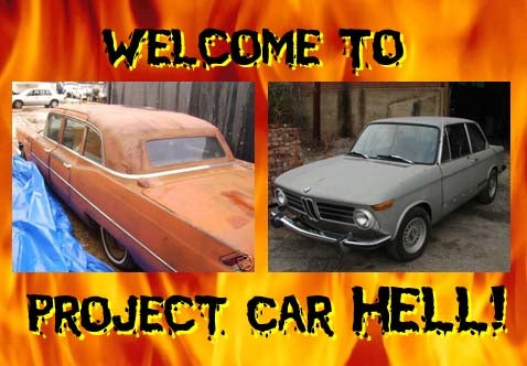 Project Car Hell: J. Edgar Limo or 2002Tii?