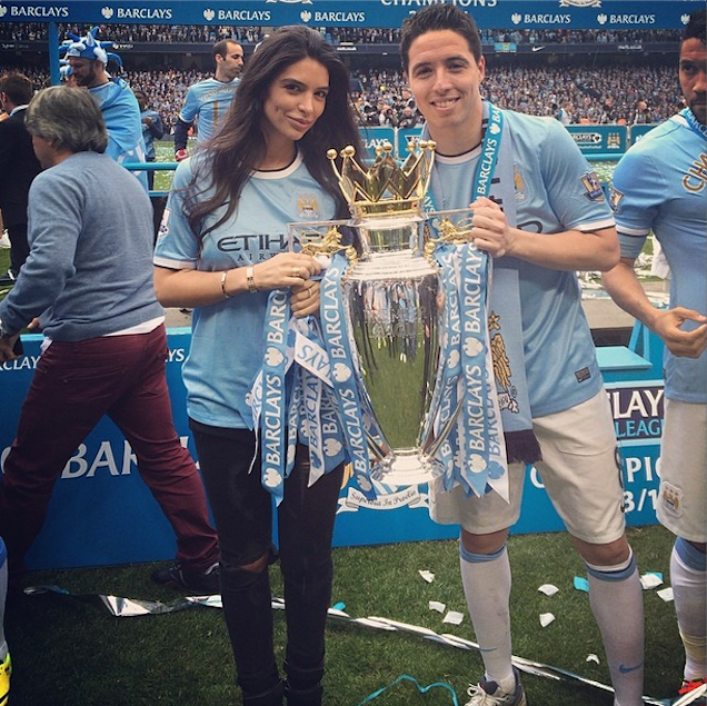 Samir Nasri's Girlfriend Is Not Happy With France's World Cup Team