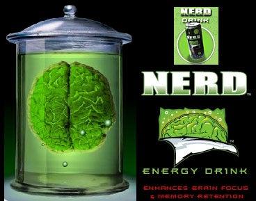 Nerd, Brain Drink For Nerds, By Nerds