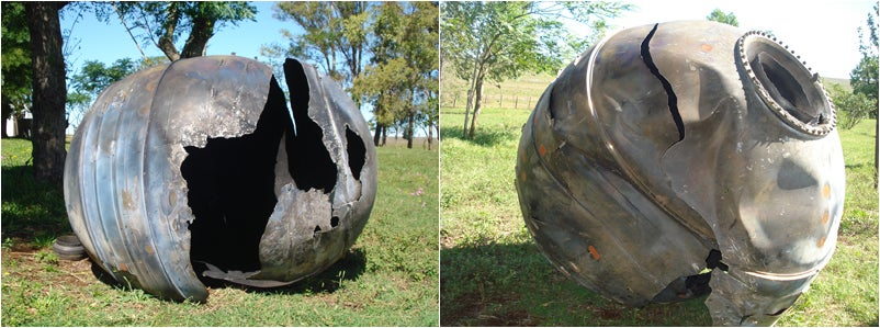 How Did This Big Ball Of Space Junk Wind Up In Uruguay?