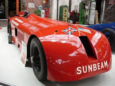 1927 Land Speed Record Setter: Sunbeam 1000
