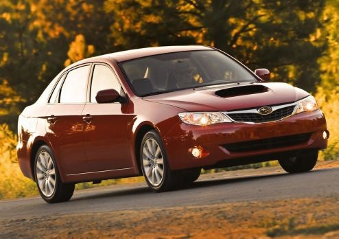 2009 Subaru Impreza WRX: A Taste Of STI At 265 HP