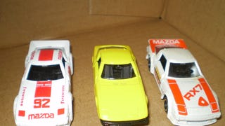 3 Tomica RX 7s