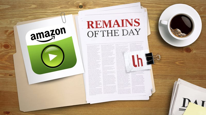 Remains of the Day: Amazon Instant Video is Now a Google TV App