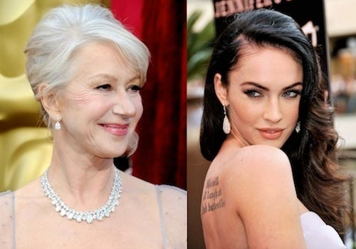 "Helen Mirren Whupping Megan Fox For ""Sexiest Woman Alive"""