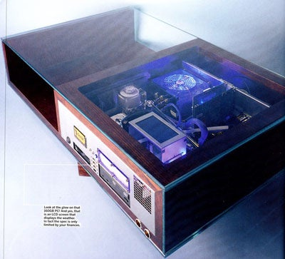 Homebrew Coffee Table PC