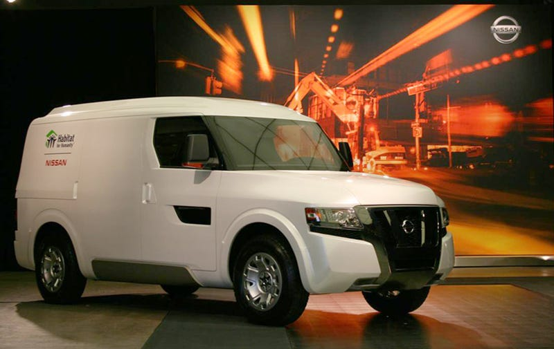 Nissan NV2500 Concept Revealed Live