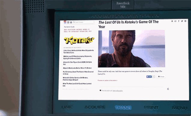 The Last of Us Is Kotaku's Game of the Year