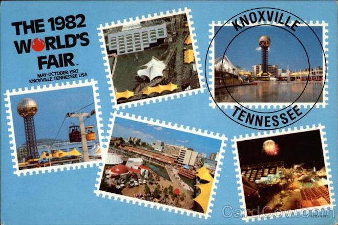 I Wouldn't Be Here Without the 1982 World's Fair