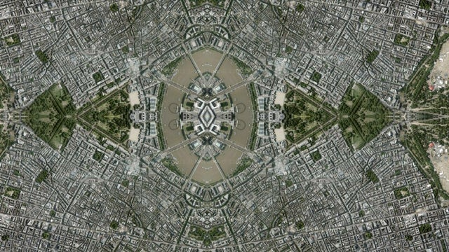 Guess the Cities That Have Been Kaleidoscoped On Google Maps