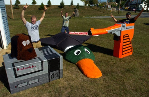 Duck Hunt Invades Red Bull Flugtag