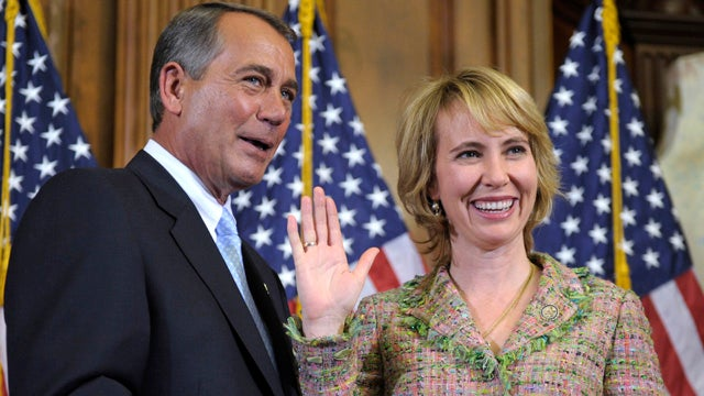Gabby Giffords' Husband Simply Does Not Care for John Boehner