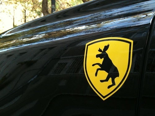 The Prancing Moose (Presumably For V12 Volvos)