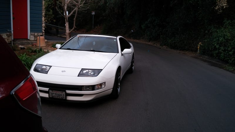 The 300ZX came home yesterday!