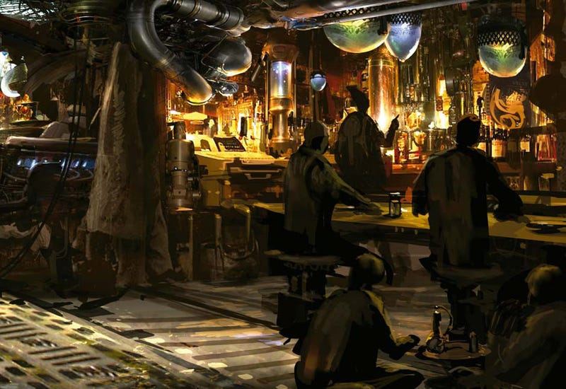 """The Lost """"Cantina Scene"""" From Abrams' Star Trek"""