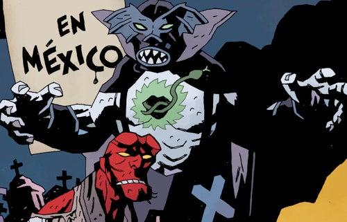 Hellboy + Tequila + Aztec Vampires = One Helluva Miércoles