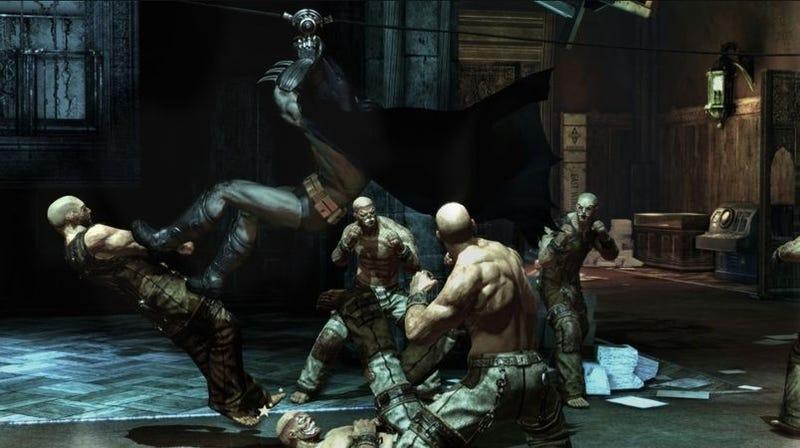 Batman Arkham Asylum Preview: The Challenge Modes