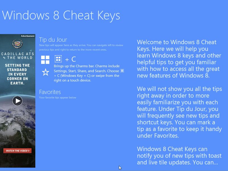 The Best New Apps In the Windows 8 Store