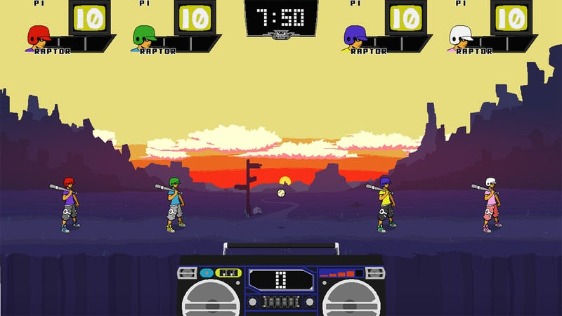 This Bonkers Baseball-Fighting Flash Game is Getting a Proper Release