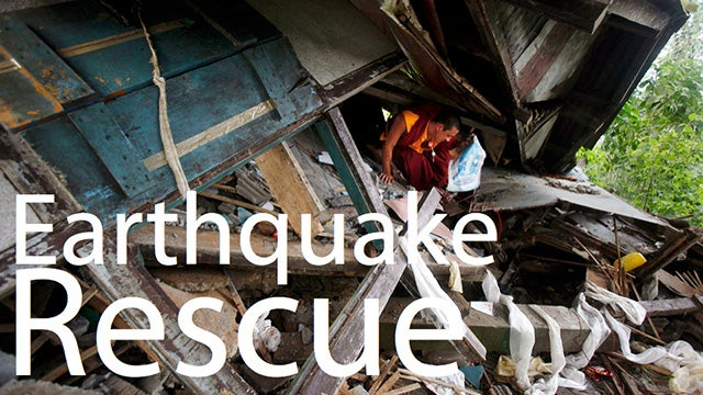 Breathing Heavy And Sweating After An Earthquake May Save Your Life