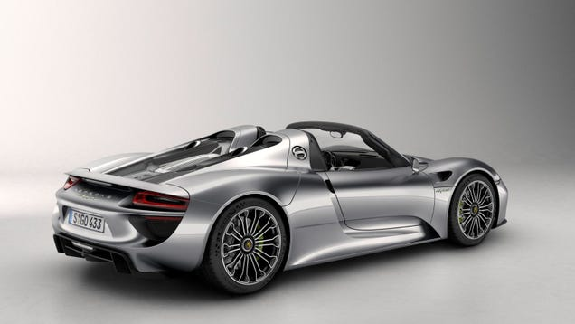 the 887 hp porsche 918 spyder will get 39 85 to 94 39 mpg. Black Bedroom Furniture Sets. Home Design Ideas