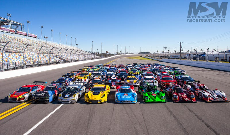 TUDOR USCC Group Photo | Daytona International Speedway | Rolex 24 Hours