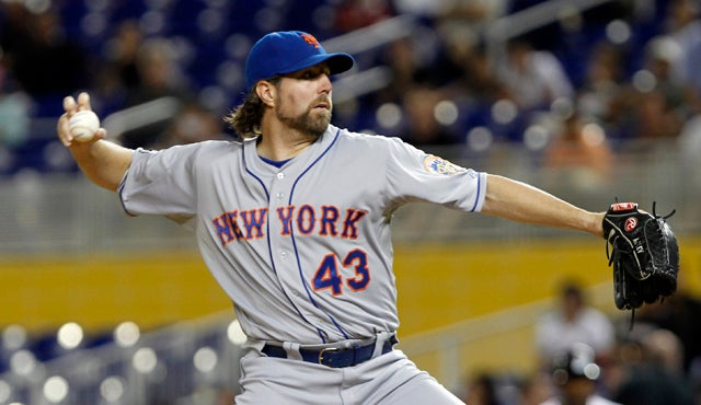 A $7,500 Charitable Donation Could Get You A Pitching Lesson With R.A. Dickey