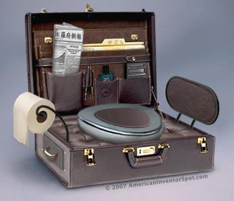 Gotta Go Briefcase, For the Non-Stop Executive On the Go