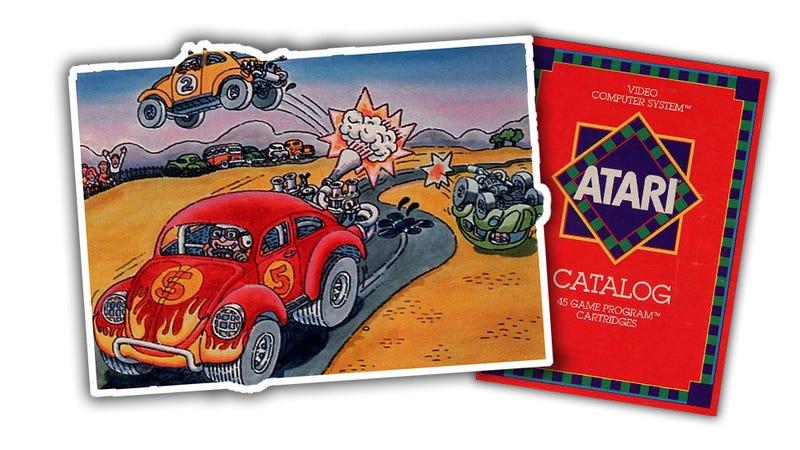 The Night Gallery: The Cartoon Cars Of Atari Catalogs, 1979-1981