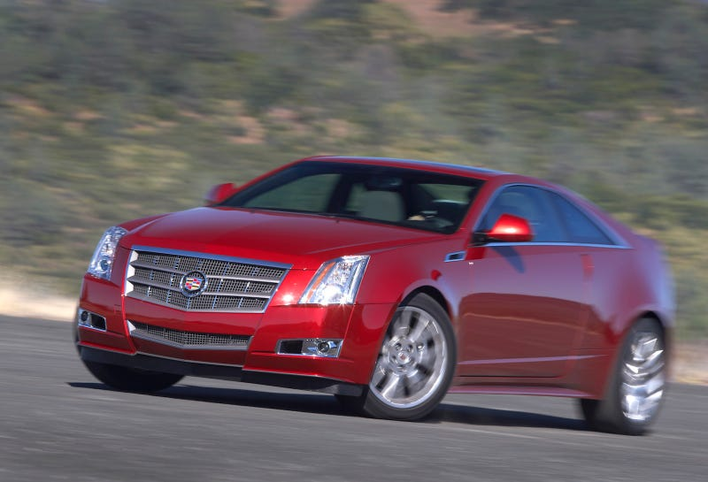 2011 Cadillac CTS Coupe: First Drive