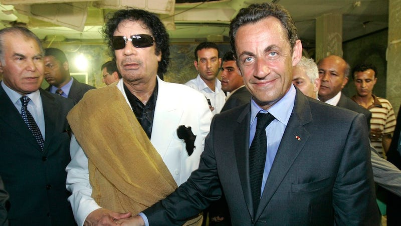 Sarkozy's Campaign Funds Investigated Amidst Alleged Link to Gaddafi