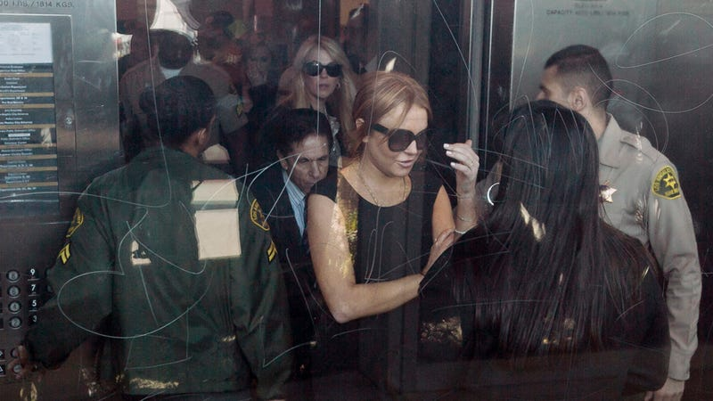 Lindsay Lohan Decided Not to Be Sick, Shows Up to Court After All