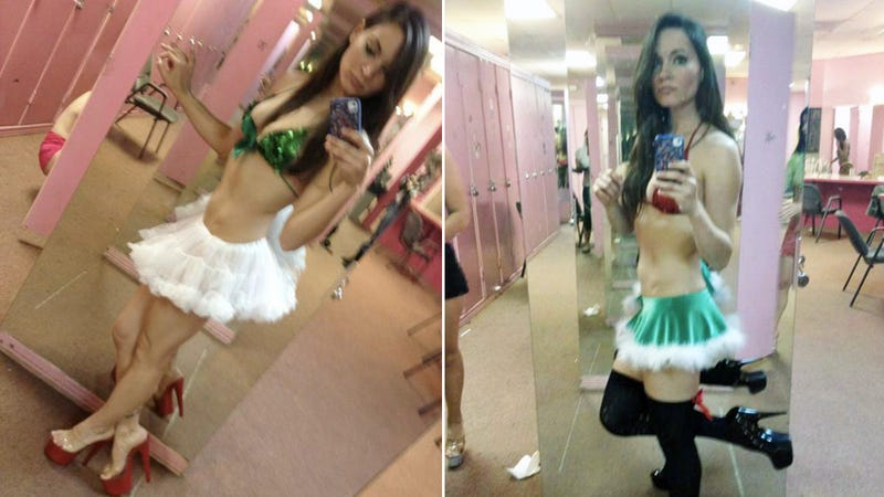 Stripper Holds Shameful Secret Day Job as a Reporter