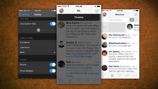 Tweetbot Adds New Gestures, Dynamic Type Sizes, and Better Lists